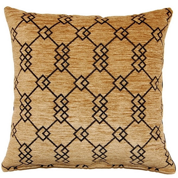 Milano Taupe 17-inch Throw Pillows (Set of 2)