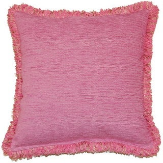 Safir Kombin 17-inch Fringed Pillows (Set of 2)