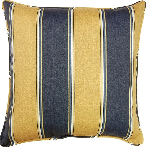 Ada Stripe Marine 26-inch Outdoor Pillow