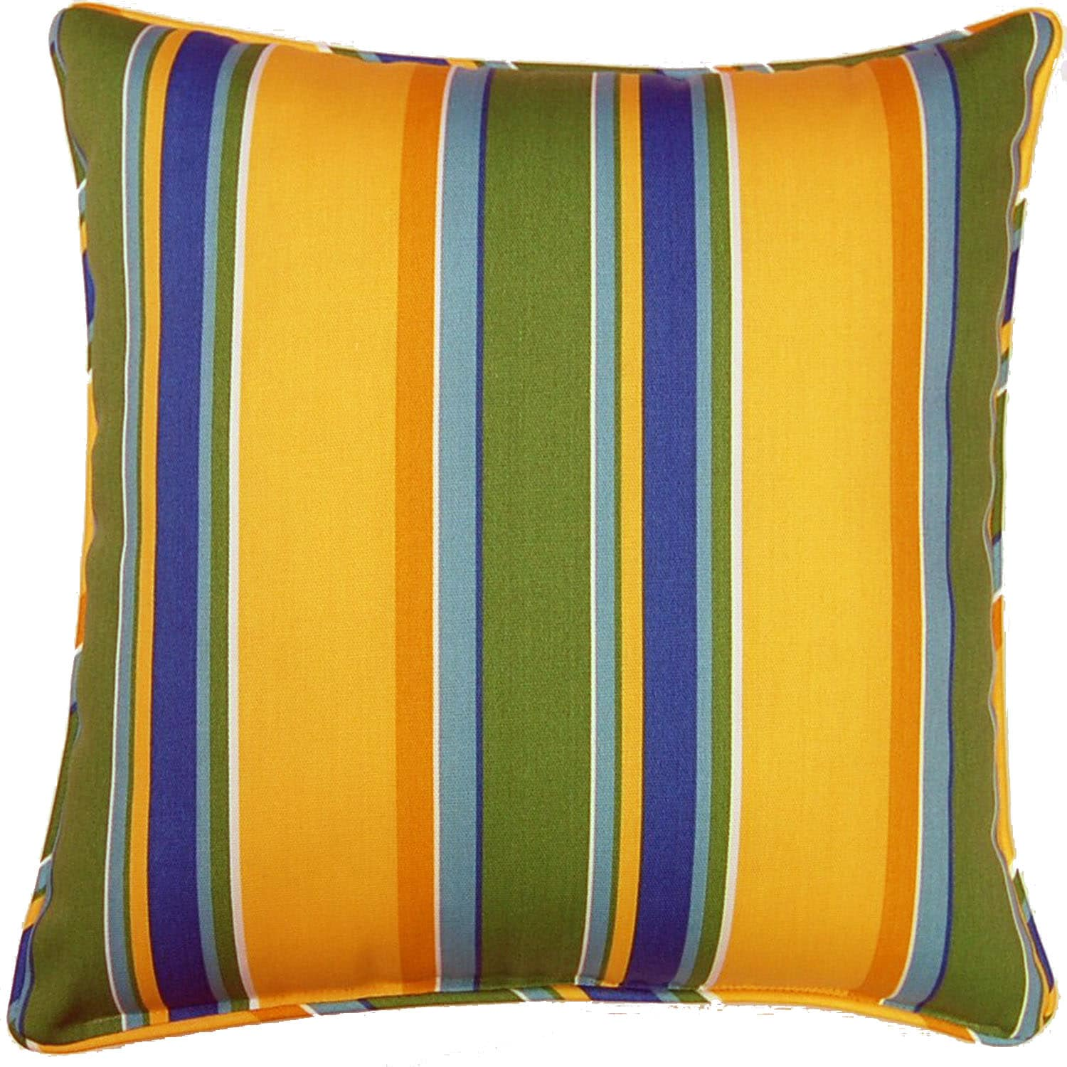 Acapulco Stripe Sunshine 26-inch Outdoor Pillow