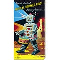 Retrobot 'Musical Drummer Robot' Stretched Canvas Art