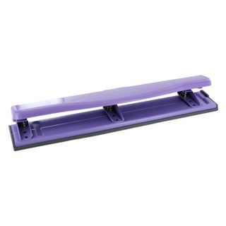Swingline Work Essentials Purple 3-Hole Paper Punch