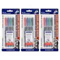 Staedtler Lumocolor CD/DVD Permanent Labeling Markers (Pack of 12)