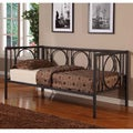 K&B DB001 Black Finish Day Bed
