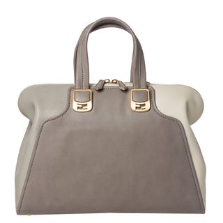 Fendi Two-Toned Chameleon Satchel Bag
