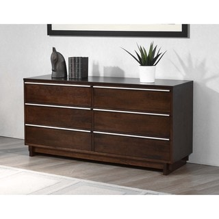Kaminski Wenge Finish 6-drawer Dresser