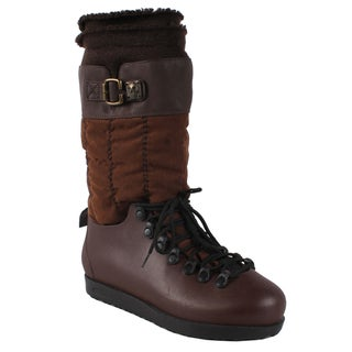 Pinky Women's 'Skyler-86' Brown Mid-calf Boots