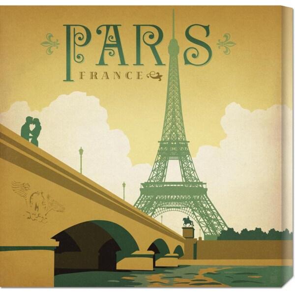 Anderson Design Group 'Paris Square' Stretched Canvas Art