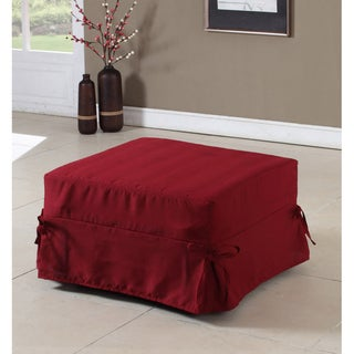 K&B FB-35B Folding Ottoman Twin-size Bed