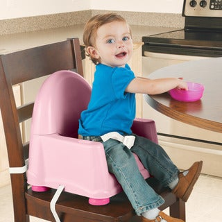 Safety 1st Easy Care Swing Tray Booster Seat in Pink
