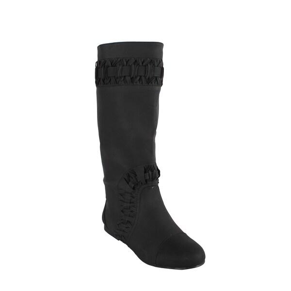 Liliana by Beston Women's 'Honesty' Black Boots