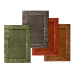 Hand-tufted Elevation Wool Rug (5' x 8')