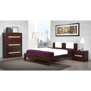 Eureka Upholstered Queen Platform Bed