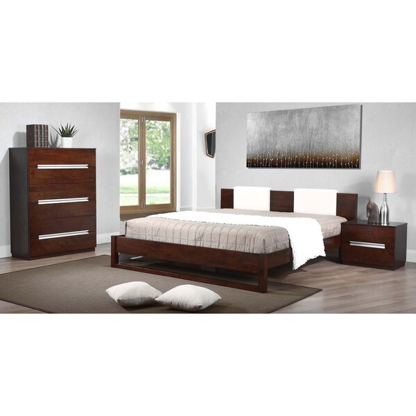 Eureka Upholstered King-size Platform Bed