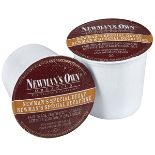 Newman's Own Special Decaf Coffee 96-count K-cups for Keurig Brewers