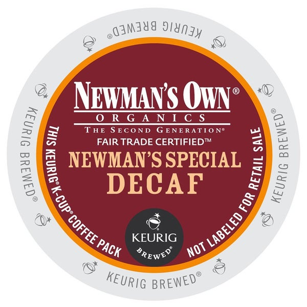 Newman's Own Special Decaf Coffee K-Cups for Keurig Brewers 18692989