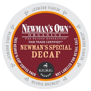 Newman's Own Special Decaf Coffee 48-count K-cups for Keurig Brewers