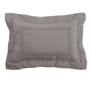 Roxbury Park Baratto Graphite With Graphite Trim Decorative Pillow