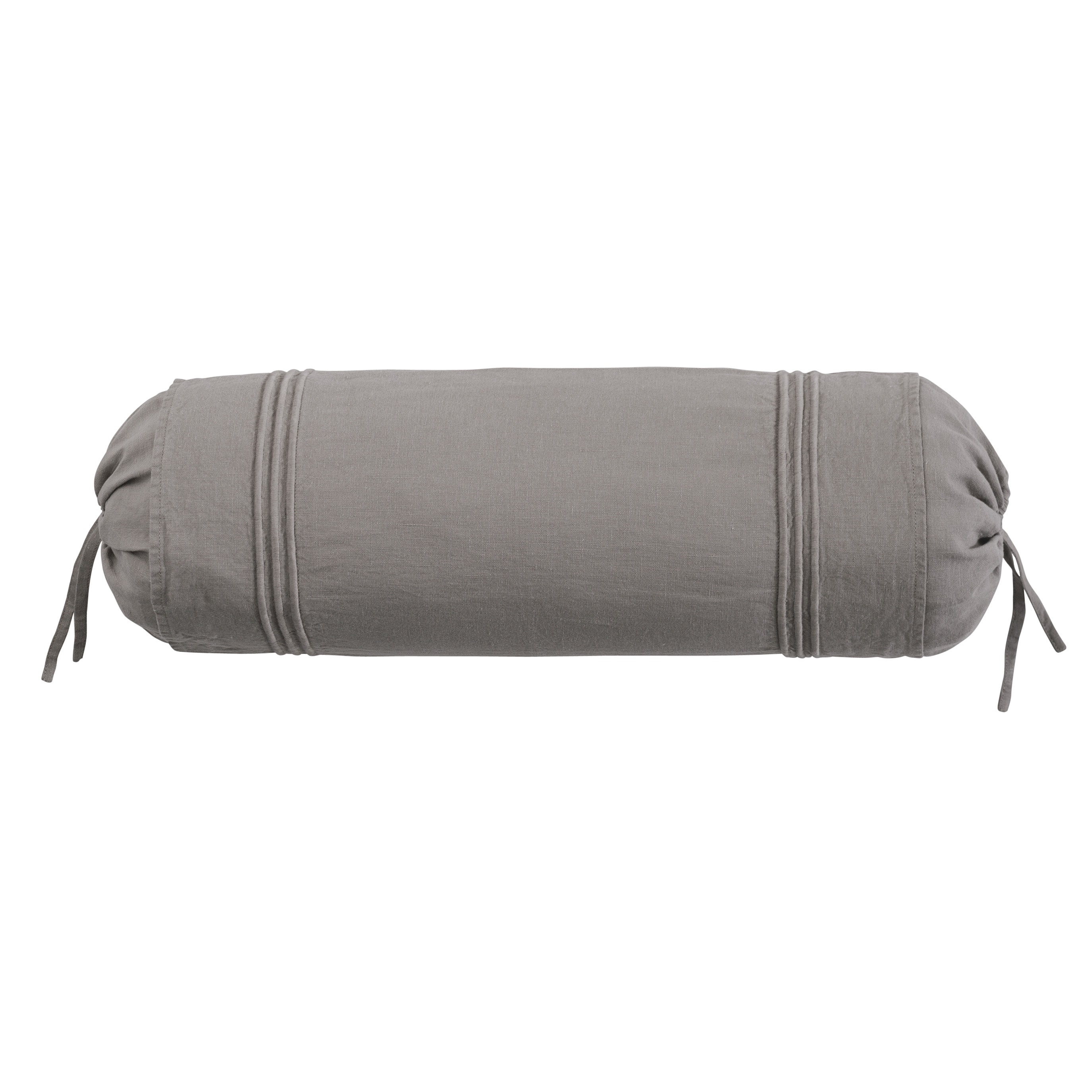 Roxbury Park Baratto Graphite With Graphite Trim Neck Roll Decorative Pillow at Sears.com