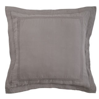 Roxbury Park Baratto Graphite With Graphite Trim Euro Sham