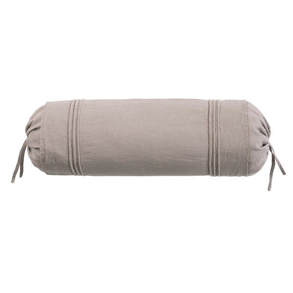 Roxbury Park Baratto Linen Prarie Neck Roll Decorative Pillow