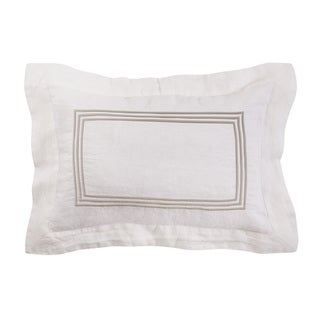 Roxbury Park Baratto Linen Ivory Prairie Decorative Pillow