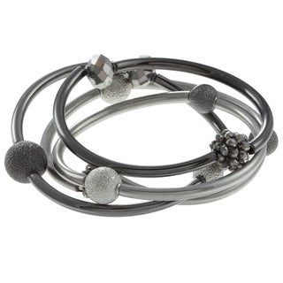 Kenneth Cole Beaded Bangles (Set of 4)