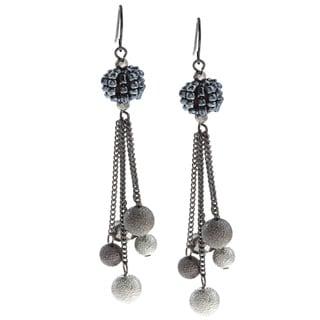 Kenneth Cole Multi-bead Linear Chandelier Earrings