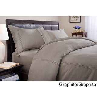 Roxbury Park Baratto Linen 3-piece Duvet Cover Set