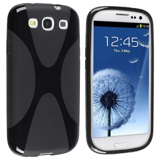 BasAcc Black X Shape Case for Samsung© Galaxy S III/ S3