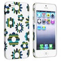 BasAcc Flower Rear Style 61 Rubber Coated Case for Apple iPhone 5