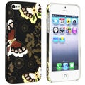 BasAcc Flower Rear Style 52 Rubber Coated Case for Apple iPhone 5/ 5S