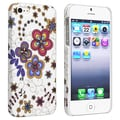 BasAcc Flower Rear Style 43 Rubber Coated Case for Apple iPhone 5