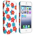 BasAcc Flower Rear Style 63 Rubber Coated Case for Apple iPhone 5/ 5S