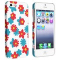 BasAcc Flower Rear Style 63 Rubber Coated Case for Apple iPhone 5