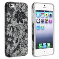 BasAcc Flower Rear Style 49 Rubber Coated Case for Apple iPhone 5/ 5S