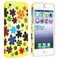 BasAcc Flower Rear Style 41 Rubber Coated Case for Apple iPhone 5