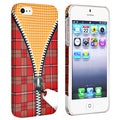 BasAcc Zipper Rear Rubber Coated Case for Apple iPhone 5