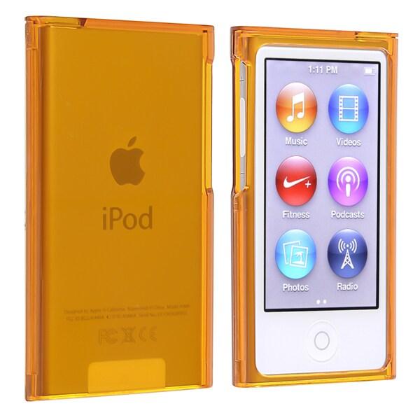 Orange Snap-on Case for Apple iPod Nano Generation 7