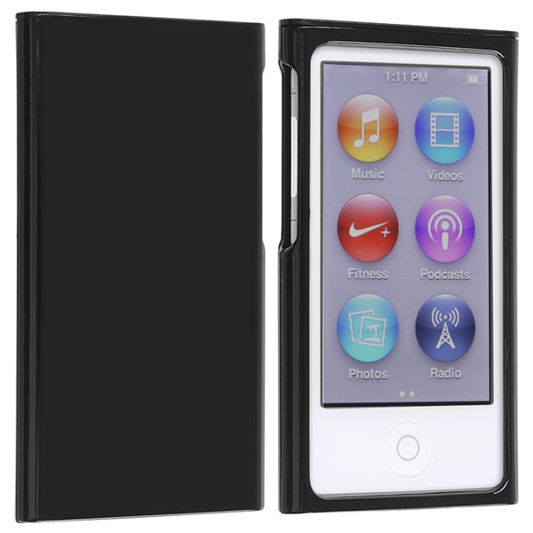 INSTEN Black Snap-on Slim iPod Case Cover for Apple iPod Nano 7th Generation