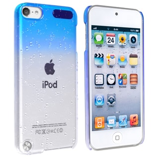 INSTEN Clear Sky Blue Waterdrop iPod Case Cover for Apple iPod Touch Generation 5