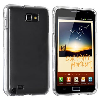 BasAcc Clear Snap-on Crystal Case for Samsung Galaxy Note N7000/I717