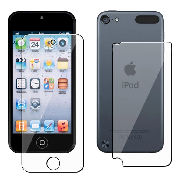 Front/ Back Clear LCD Screen Protector Film Cover For Apple iPod Touch 5th/ 6th Gen