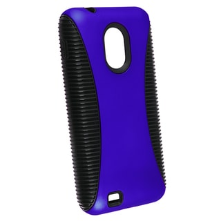 BasAcc Black/ Blue Hybrid Case for Samsung Epic 4G Touch D710