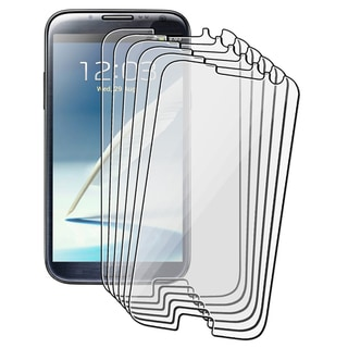 BasAcc 6-pieces Screen Protector for Samsung Galaxy Note II N7100