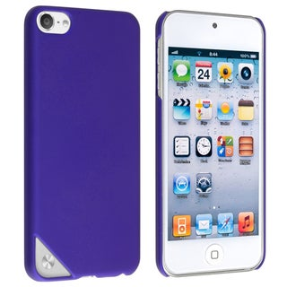 BasAcc Blue Rubber Coated Case for Apple iPod Touch 5th Generation