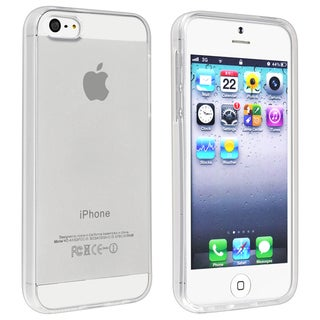 BasAcc Clear TPU Case for Apple iPhone 5