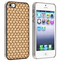 BasAcc Light Brown Twill Snap-on Case for Apple iPhone 5