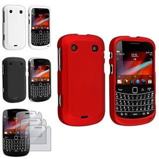 BasAcc Case/ Screen Protector for BlackBerry Bold 9900/ 9930