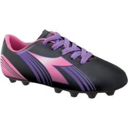 Boys' Diadora Avanti MD JR Black/Pink/Purple